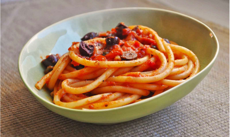 Rezept Spaghetti mit  Tomaten-Chili-Einlage
