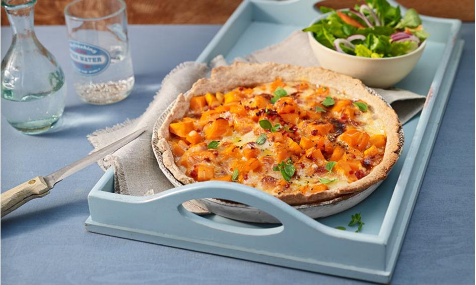 Rezept Kürbis-Raclettekuchen