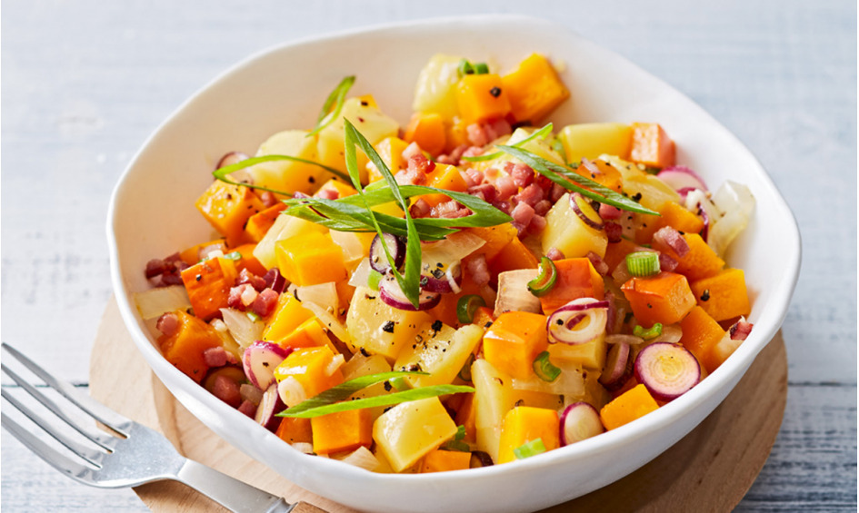 Rezept Kürbis-Kartoffelsalat