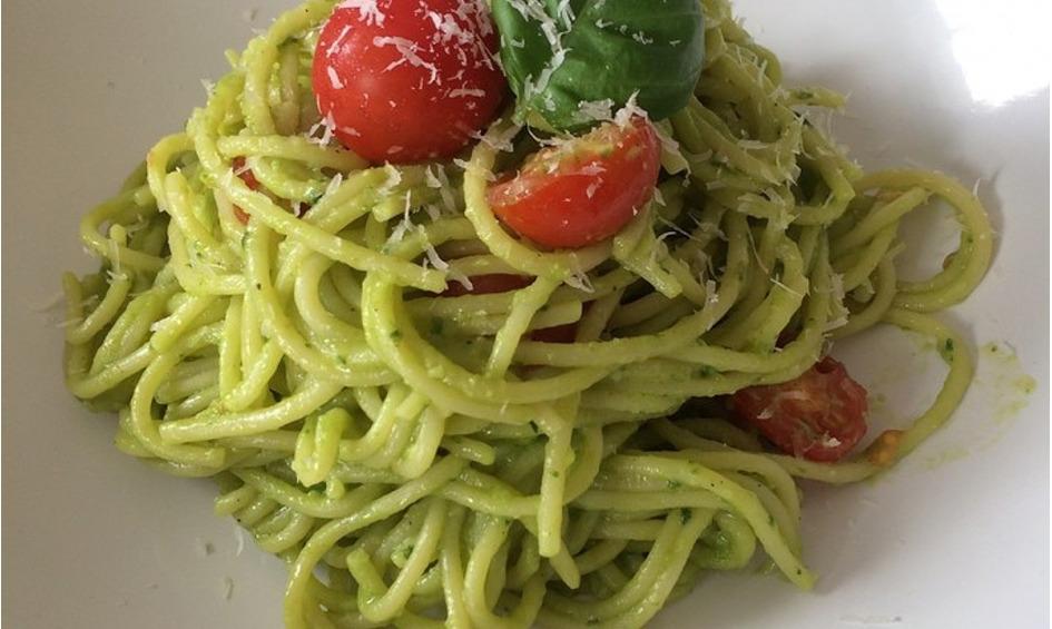 Rezept Avocado-Spaghetti