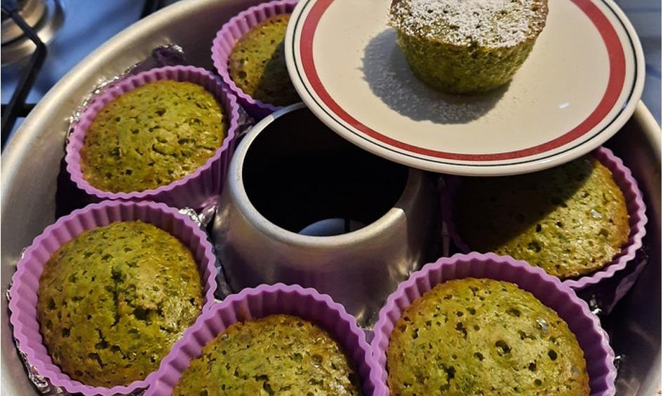 Rezept Basilikum-Muffins