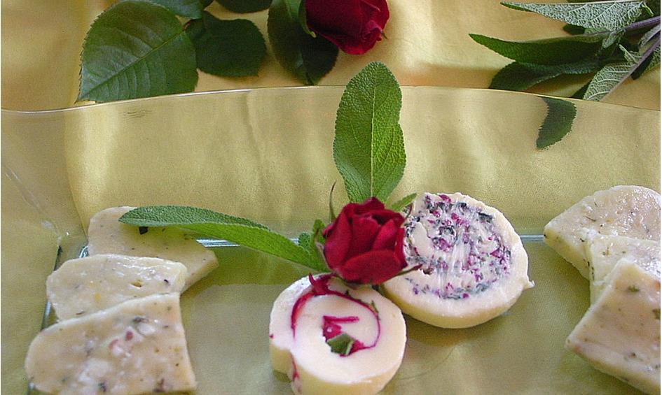 Rezept Blüten-Butter Rolle