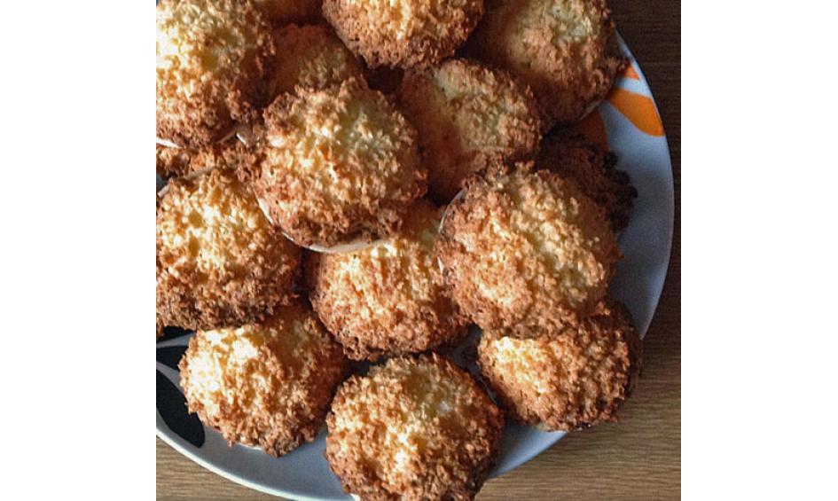 Weihnachtsplätzchen Kokosmakronen.Einfache Und Schnelle Weihnachtsplätzchen Chefkoch De