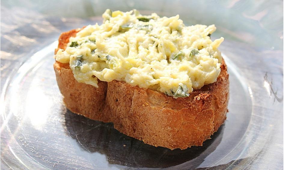 Rezept Crostini mit Zucchini - Püree