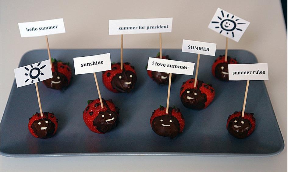 Rezept Erdbeer-Käfer