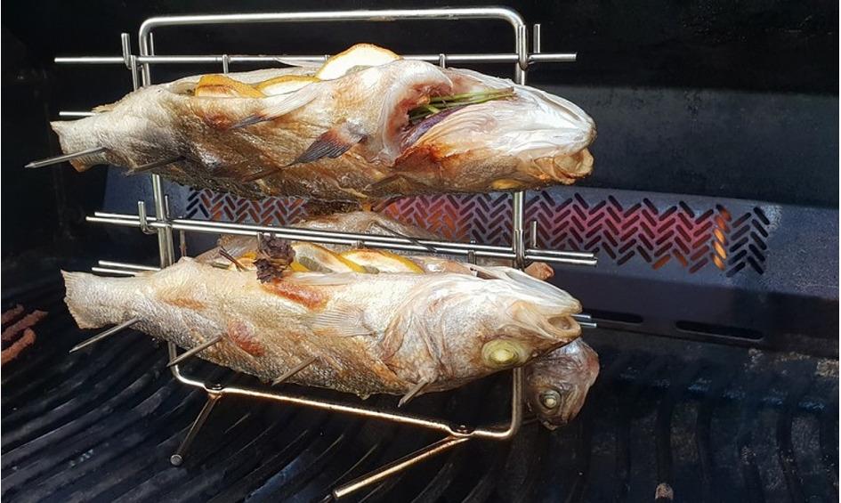 Rezept Fischplatte vom Grill