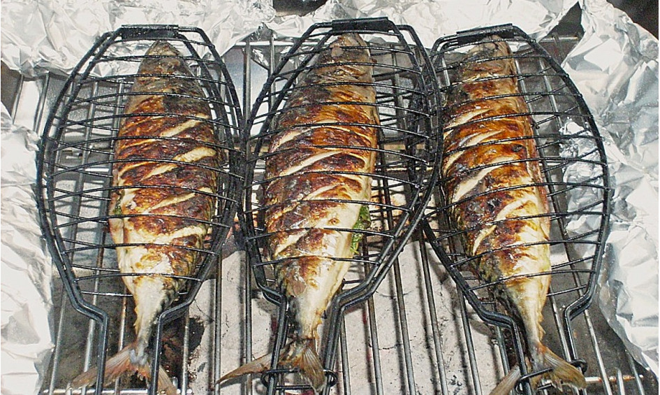 Rezept Gegrillte Knoblauch-Makrele