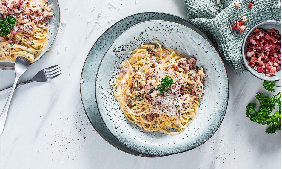 Rezept Italienische Carbonara-Sauce