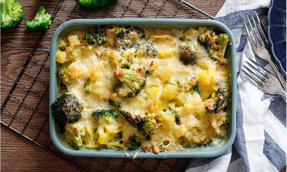 Rezept Kartoffel-Brokkoli-Auflauf
