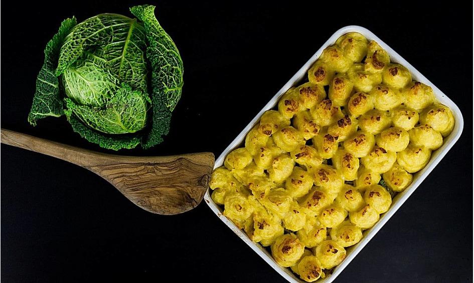 Rezept Kartoffel-Wirsing-Auflauf