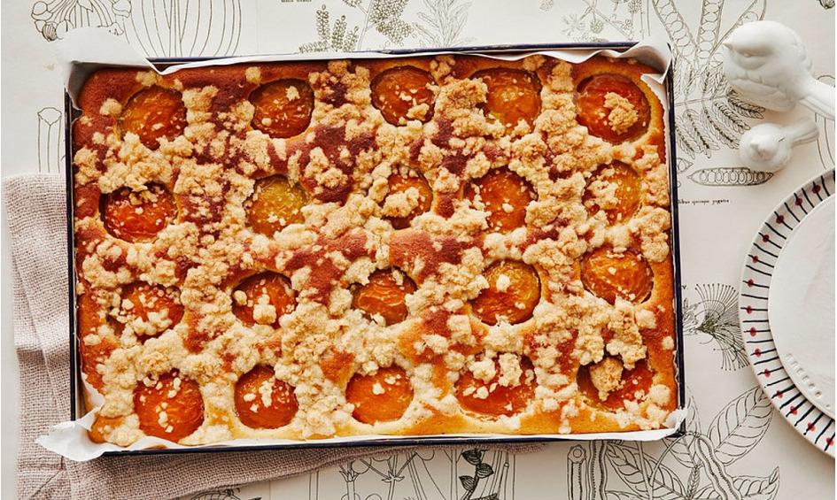 Rezept Marillenkuchen mit Streusel
