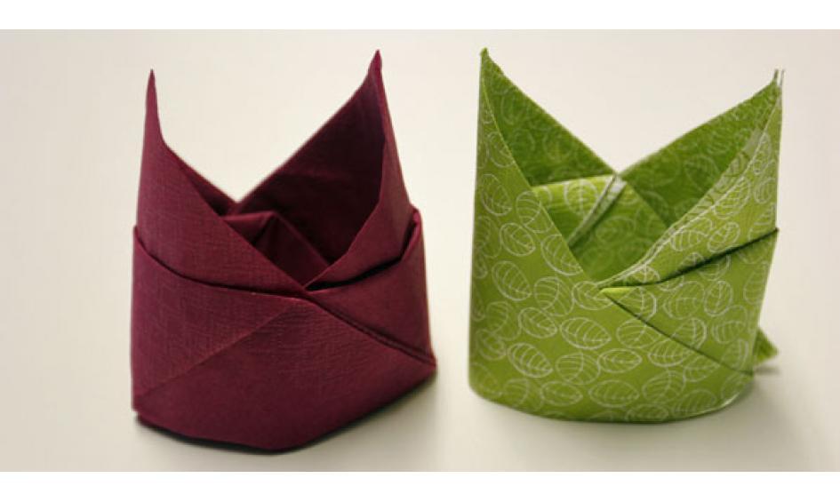 Servietten falten: effektvolle Tischdeko von schnell bis edel ...