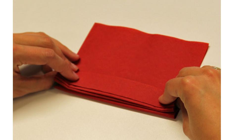 Servietten Falten Fächer servietten falten effektvolle tischdeko schnell bis edel
