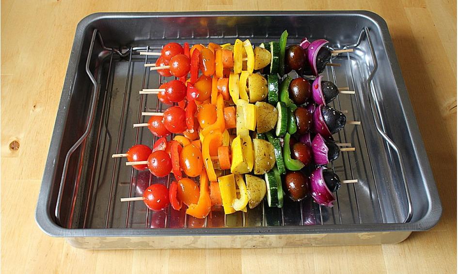 Rezept Regenbogenspieße