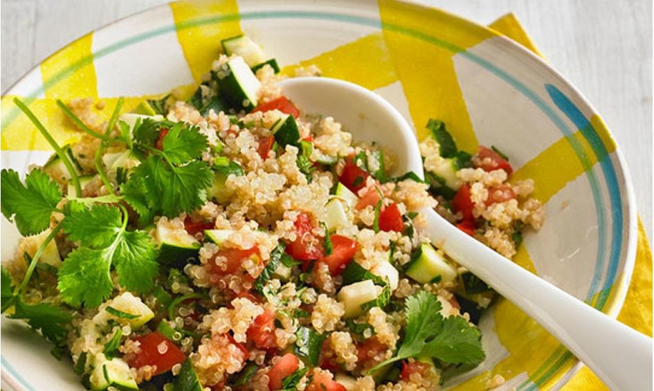 Rezept Sommerlicher Quinoa-Salat