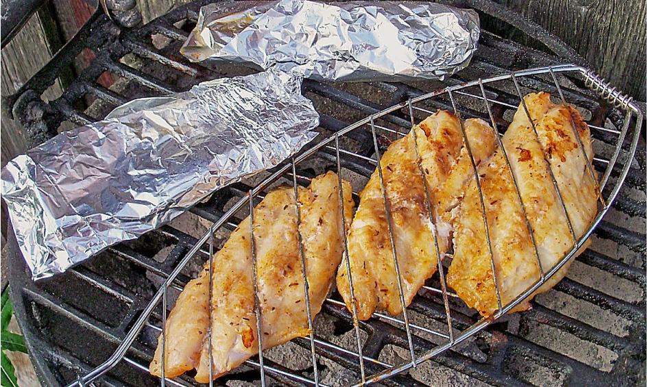 Rezept Thai-Fisch vom Grill