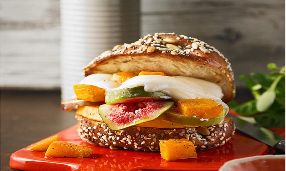 Rezept Vegetarischer Kürbis-Burger