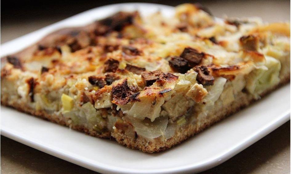Rezept Zwiebelkuchen vegan