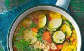 Rezept 15 Minuten Gemüse-Nudel-Suppe