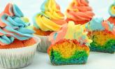 Rezept Rainbow Cupcakes
