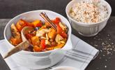 Rezept Herbstcurry mit Hähnchen und Kürbis