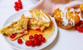 Rezept Johannisbeer Muffins mit Erdnussstreuseln