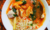 Rezept Balinesische Fischsuppe mit Reis