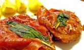 Kalbsschnitzel mit Schinken und Salbei