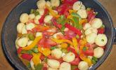 Gnocchi mit Tomaten - Paprika - Gemüse