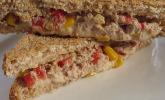 Thunfisch - Käse - Sandwich