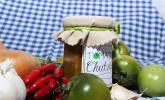 Chutney aus grünen Tomaten