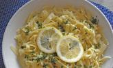 Tagliatelle mit Zitronensoße