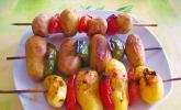 Kartoffel - Spieße für den Grill