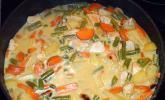 Currycreme-Suppe
