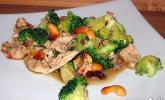 Hähnchenbrust nach Szechuan Art mit Brokkoli