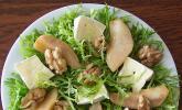Birnensalat mit Nüssen