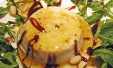 Überbackener Ziegenkäse mit Honigsauce