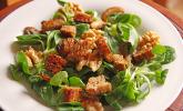Feldsalat mit Meerrettich-Dressing