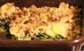 Kartoffel-Spinat-Hackfleisch-Auflauf