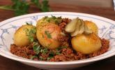 Bratkartoffeln mit Beamtenstippe