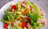 Salat mit Forellenfilet nach Laura