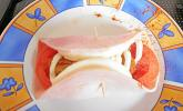 Kochschinkenröllchen mit Mozzarellafüllung
