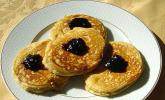 Pancakes mit Erdnussbutter
