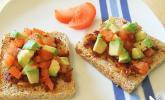Julies Toast - Bruschetta mit Avocado