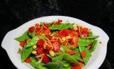Asiatisches Ingwer-Knoblauch-Gemüse