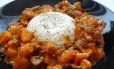 Einfaches vegetarisches Curry