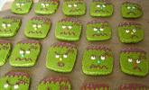 Frankenstein-Cookies