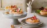 Quiches mit Camembert und Feigensenf