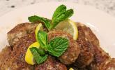 Spieße mit Lammhackfleisch & Schafskäse