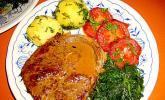 Lammkeulen-Steak